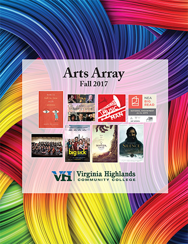 Fall 2017 Arts Array Brochure