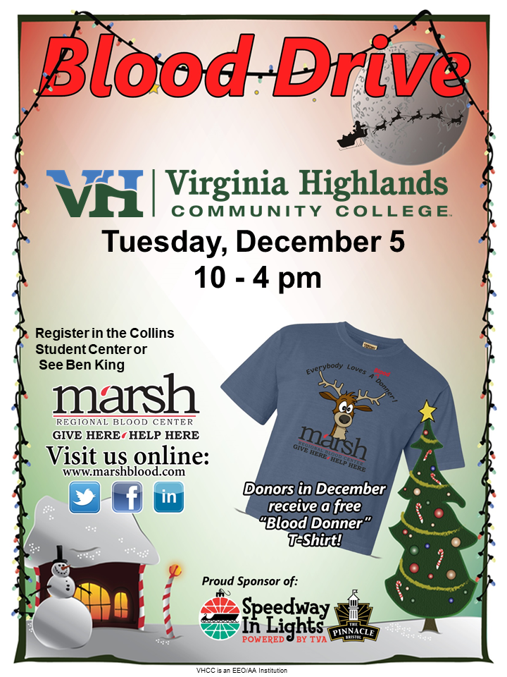 VHCC December Blood Drive