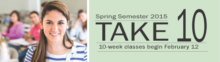 Take 10 - 10 Week Session