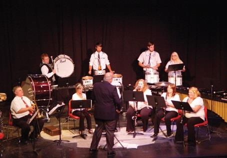 VHCC Percussion Ensemble and Wolfpack Band