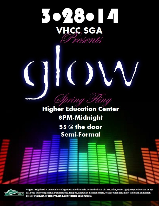 Glow - SGA Spring Fling March 28, 2014