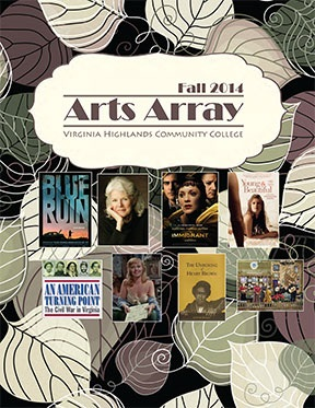 Arts Array Fall 2014 Cover