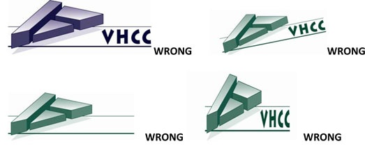 VHCC Logo Wrong Use