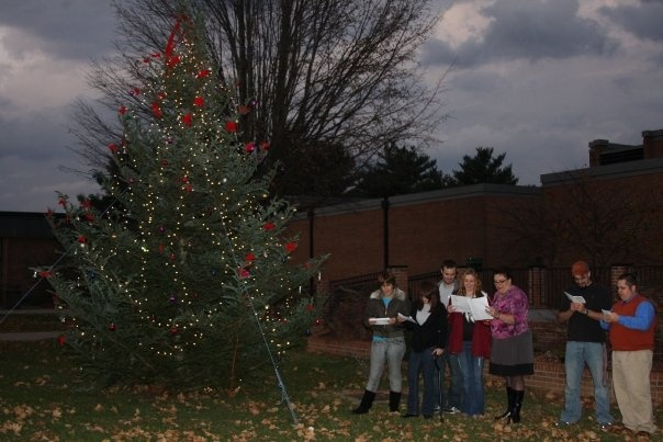 SGA Christmas Tree Lighting