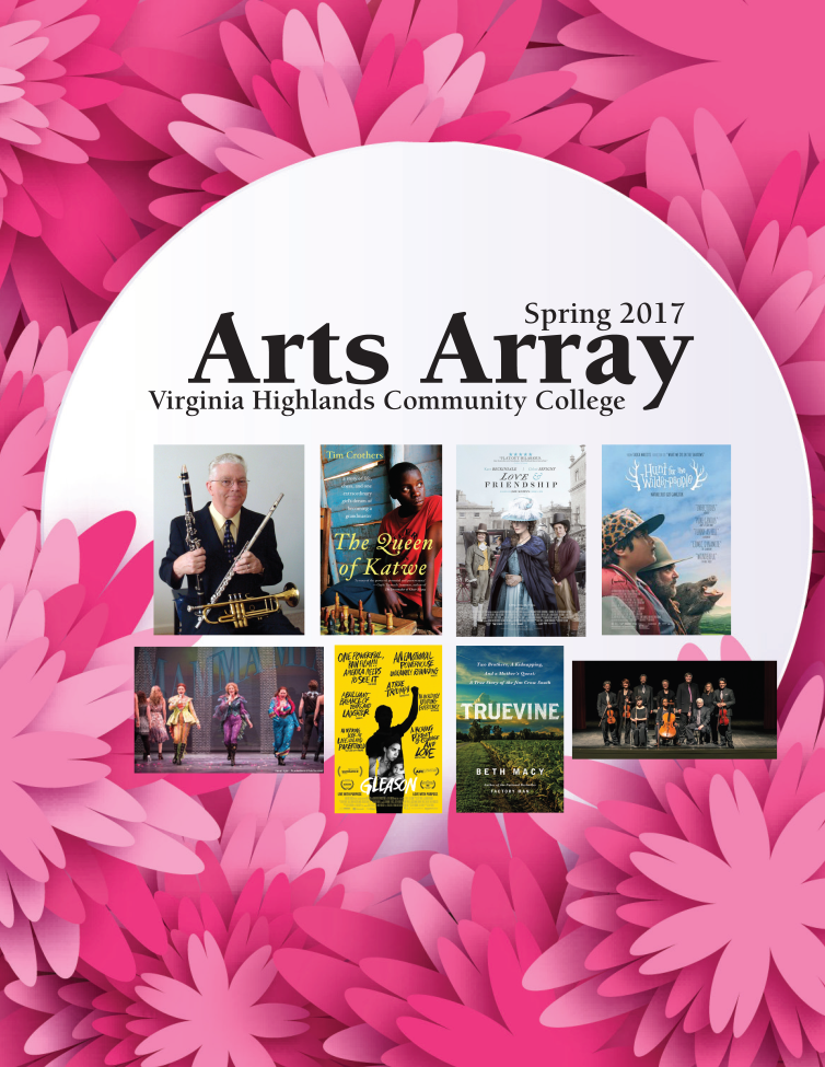 Spring 2017 Arts Array Cover