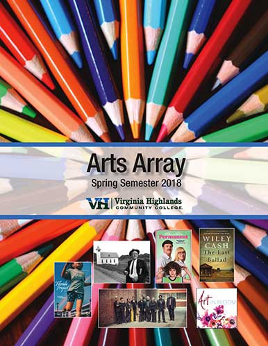 Arts Array Download the Spring 2018 brochure today!