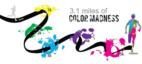 Vhcc Color X Treme 5k Run Upcoming Events Virginia Highlands