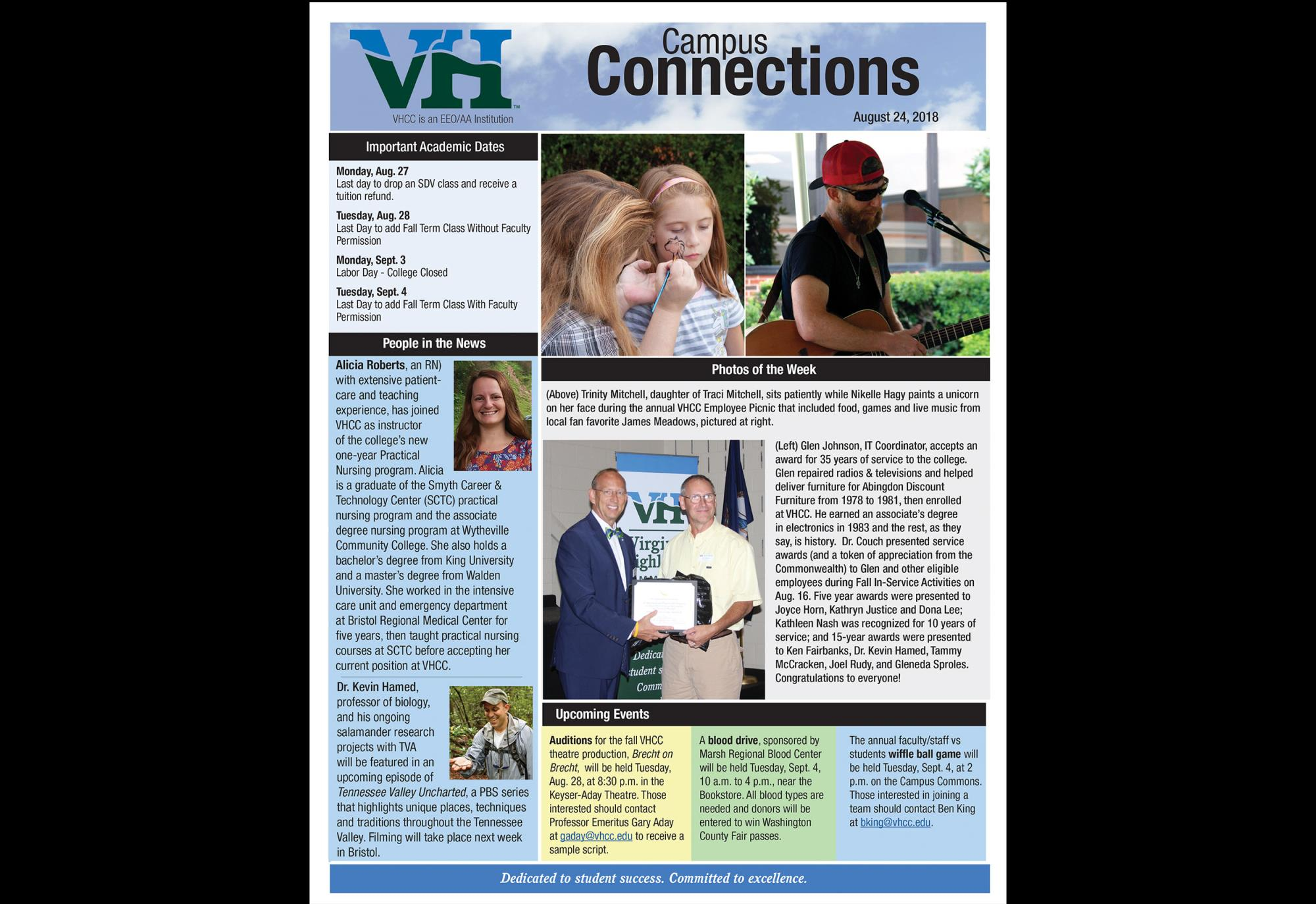 In the Spotlight | Virginia Highlands Community College