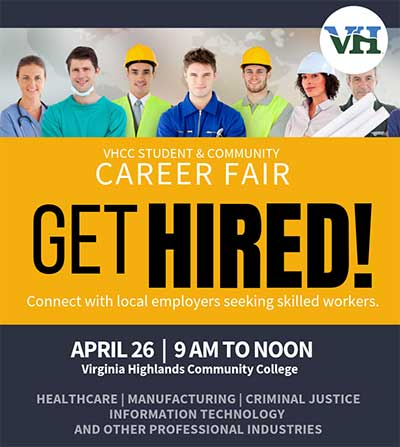Get Hired - April 26 2019 Career Fair