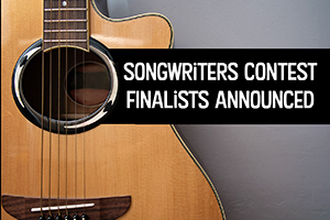 Guitar - Songwriters Contest Finalist Announced