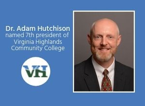 Dr. Adam Hutchison named 7th President of VHCC